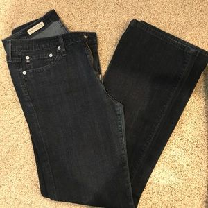 AG Mid-Rise Angel boot fit jeans
